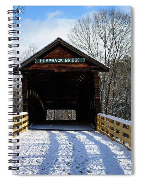 Over The River And Through The Bridge Spiral Notebook