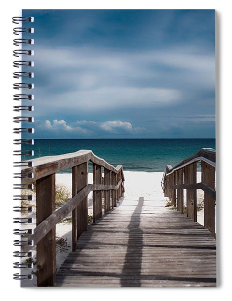 Over The Sand Spiral Notebook