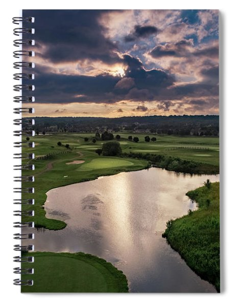 Over The Water Spiral Notebook
