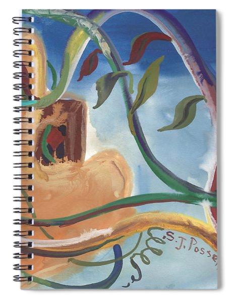 Overgrown Spiral Notebook