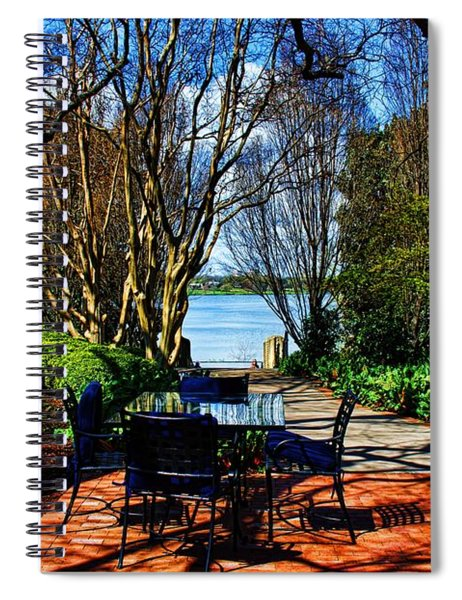Overlook Cafe Spiral Notebook