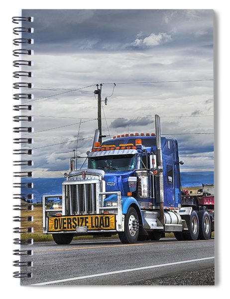 Oversize Load Spiral Notebook