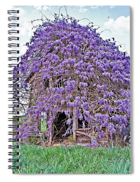 Overtaken Spiral Notebook