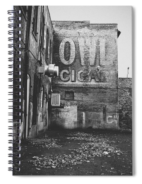 Owl Cigar- Walla Walla Photography By Linda Woods Spiral Notebook
