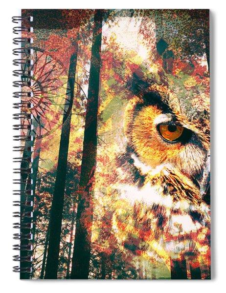 Owl Medicine 2015 Spiral Notebook