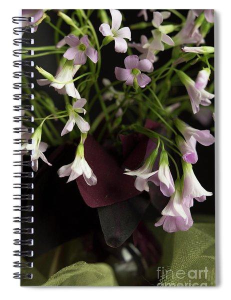 Oxalis 2 Spiral Notebook