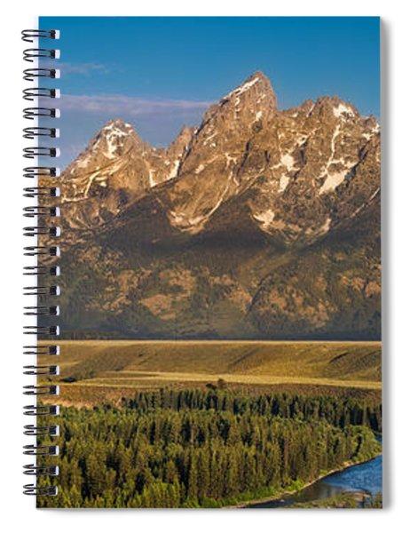 Oxbow Bend Grand Tetons Spiral Notebook