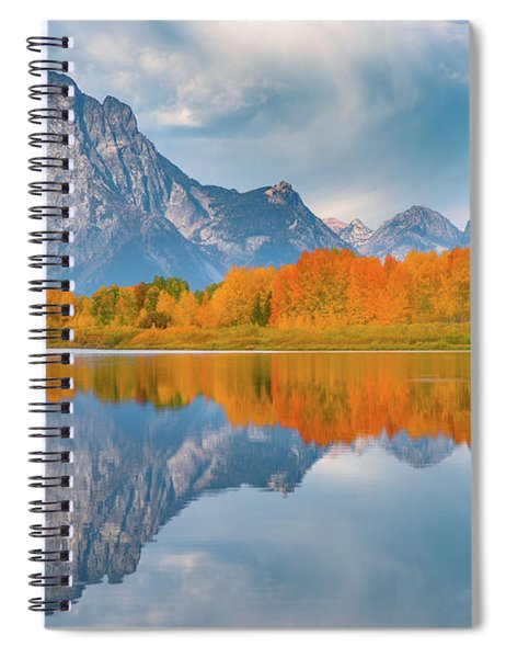 Oxbow's Autumn Spiral Notebook