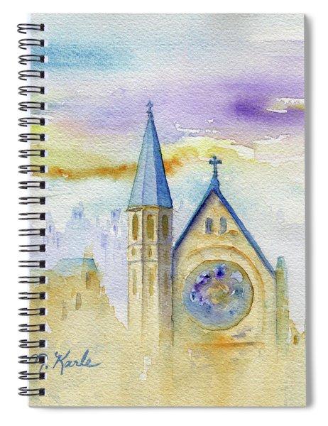 Oxford Church Spiral Notebook