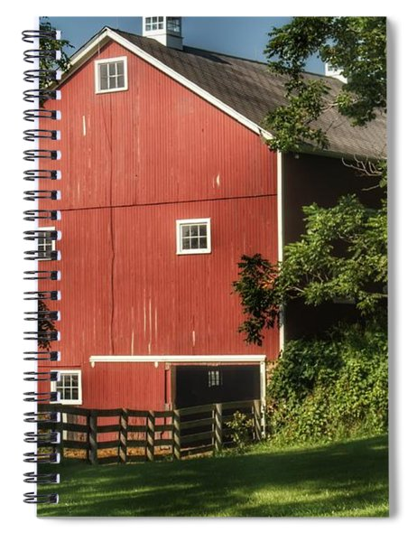 0035 - Oxford's Big Red I Spiral Notebook