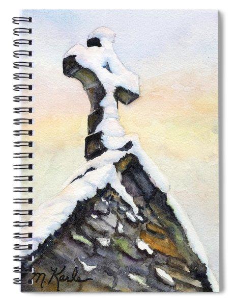 Oxford Snow Spiral Notebook