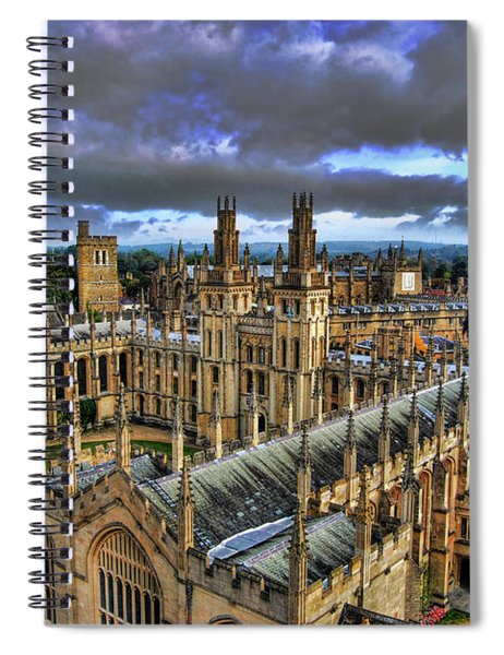 Oxford University - All Souls College Spiral Notebook