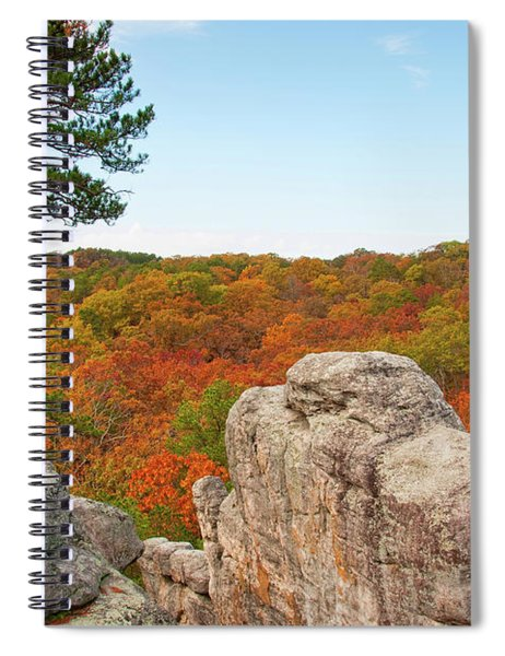 Ozark Fall Color Spiral Notebook