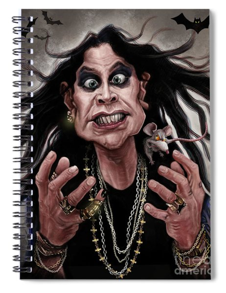 Ozzy Osbourne Spiral Notebook