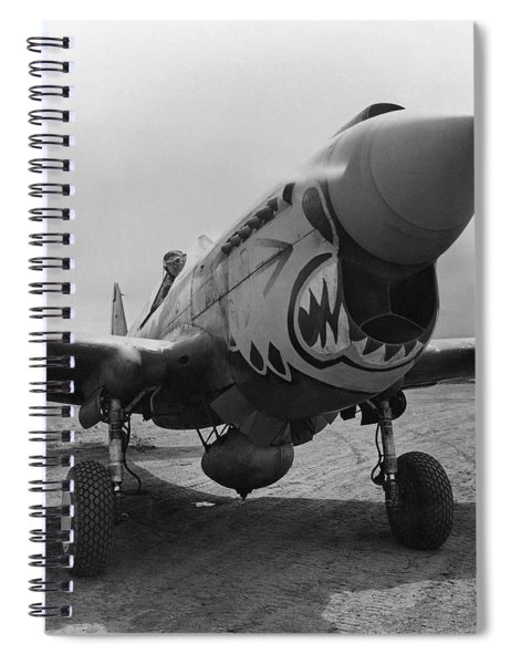 P-40 Warhawk - Flying Tiger Spiral Notebook