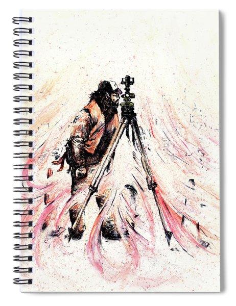 P J Spiral Notebook