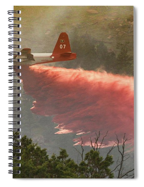 P2v Drops In Ferguson Canyon Spiral Notebook