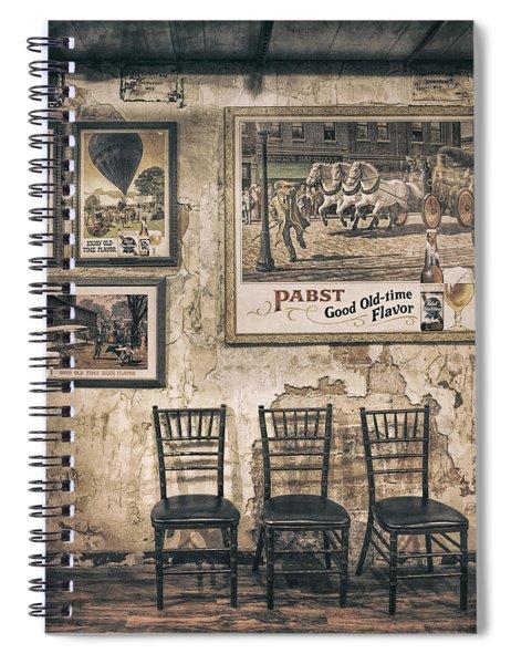 Pabst Good Old Time Flavor Spiral Notebook