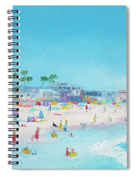 Pacific Beach In San Diego Spiral Notebook