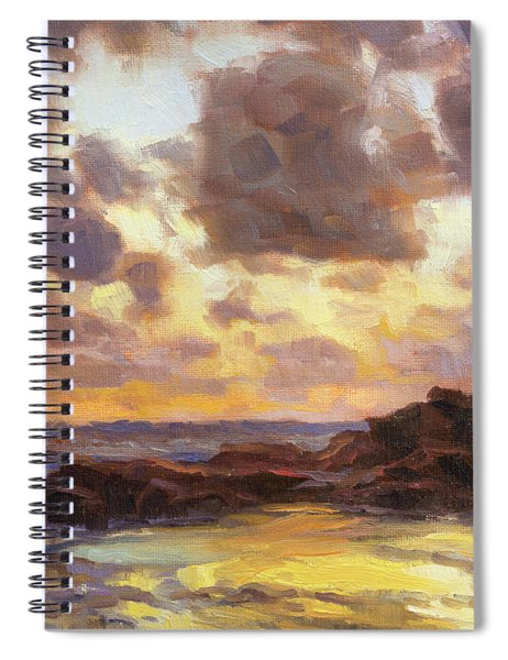 Pacific Clouds Spiral Notebook