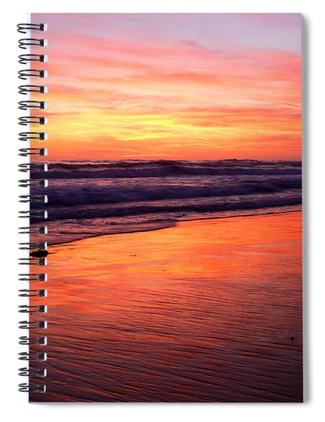 Cardiff Coast  Spiral Notebook