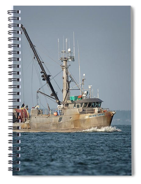 Pacific Viking Spiral Notebook