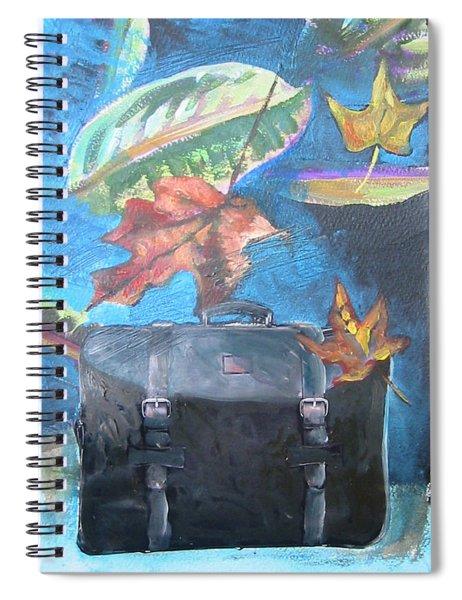 Packed Bag Spiral Notebook
