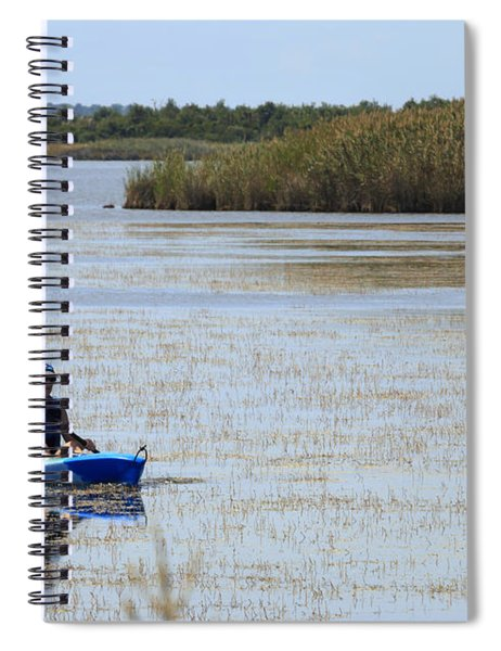 Paddle Away Spiral Notebook