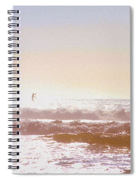 Paddleboarders Spiral Notebook