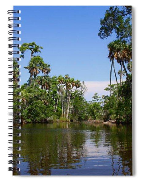 Paddling Otter Creek Spiral Notebook
