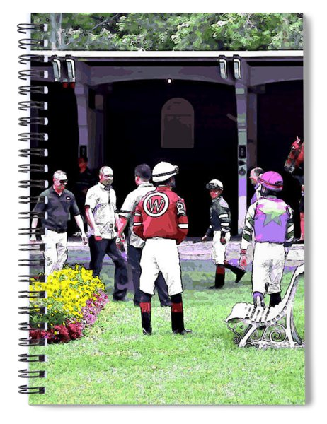 Paddock Painting Spiral Notebook