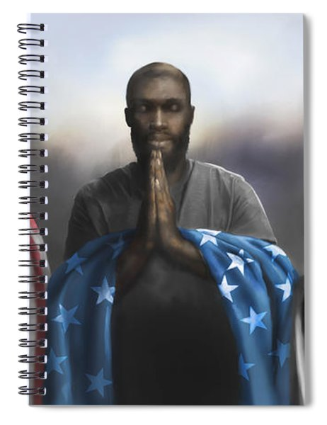 Pain, Prayer And Perseverance Spiral Notebook