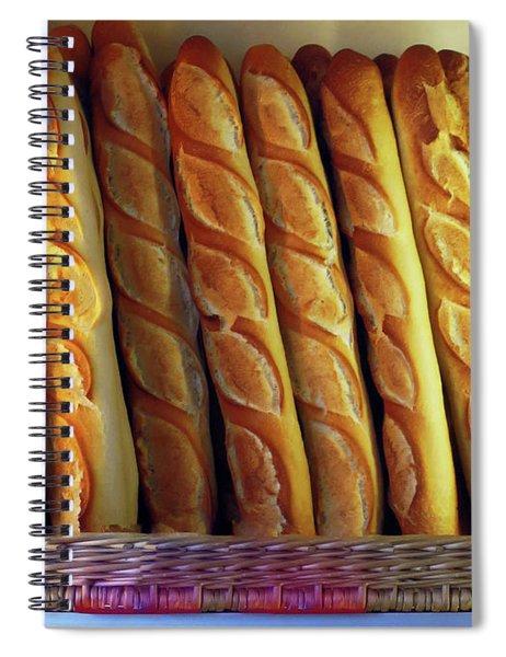 Pain Quotidien Spiral Notebook