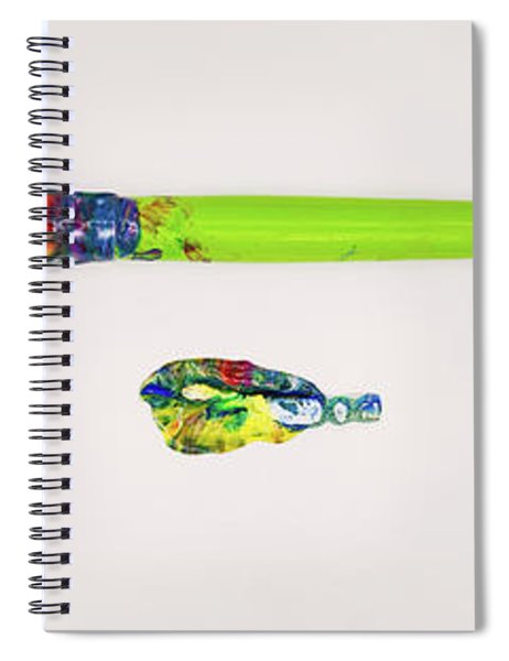 Paint Brush Of The Soul Spiral Notebook