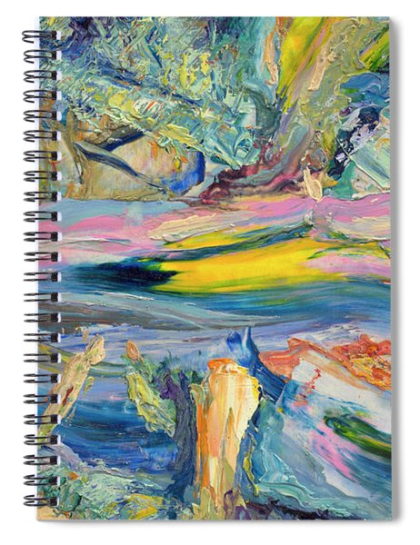 Paint Number 31 Spiral Notebook