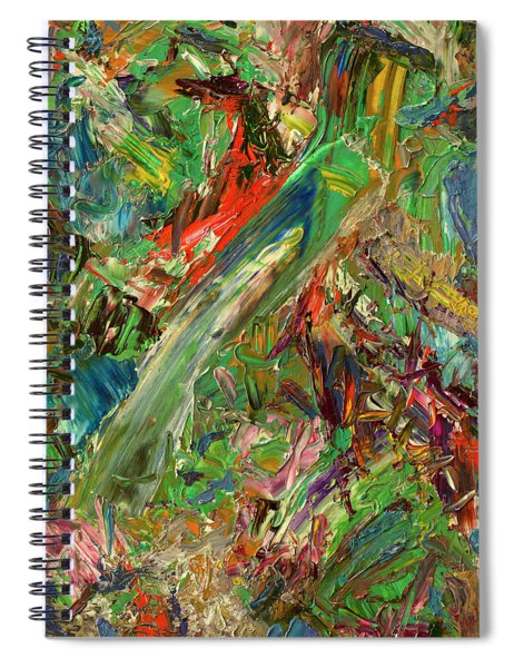 Paint Number 32 Spiral Notebook
