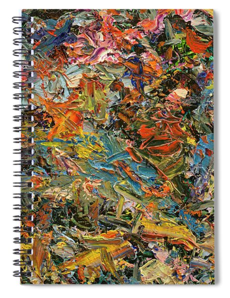 Paint Number 35 Spiral Notebook