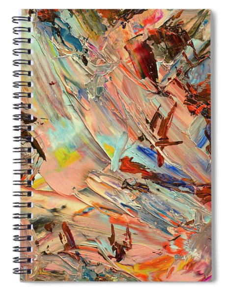 Paint Number 36 Spiral Notebook