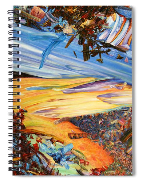 Paint Number 38 Spiral Notebook