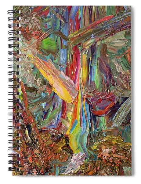 Paint Number 40 Spiral Notebook