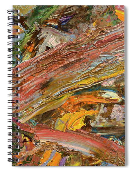 Paint Number 41 Spiral Notebook