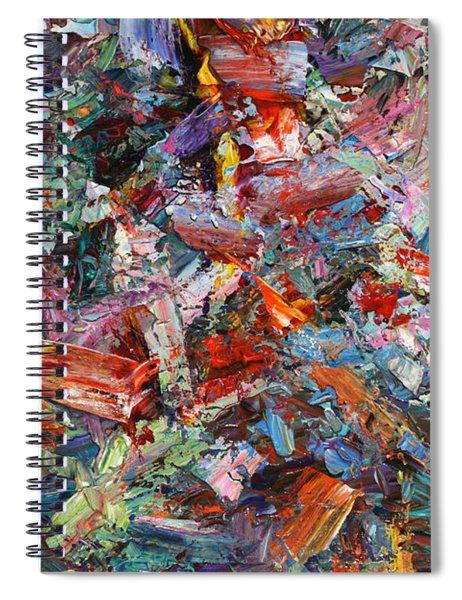 Paint Number 42-a Spiral Notebook