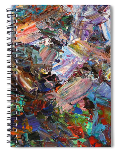 Paint Number 42-c Spiral Notebook