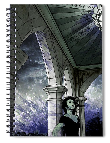 Paint The Town Spiral Notebook
