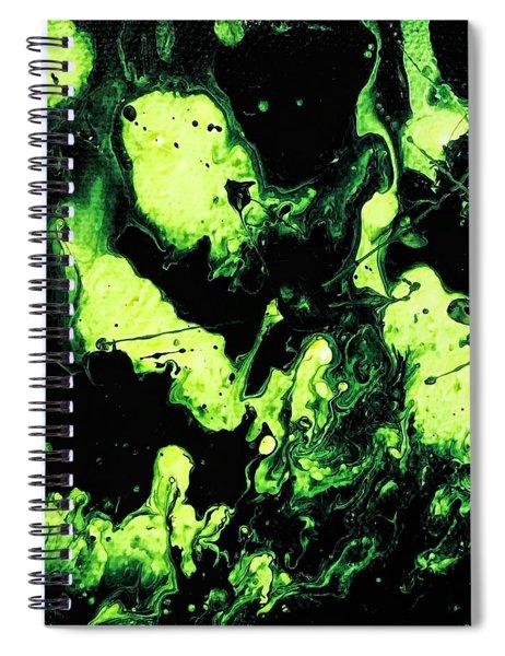 Paintball Spiral Notebook