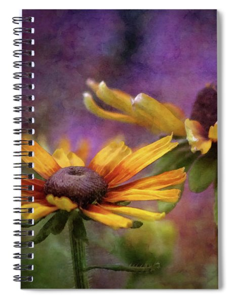 Painted By The Sun 2757 Idp_2 Spiral Notebook