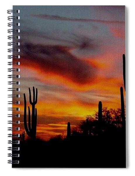 Painted Desert Sunset Spiral Notebook