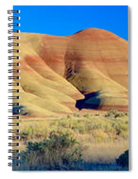 Painted Hills Extreme Pano  Spiral Notebook