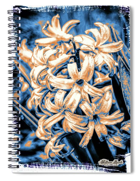 Painted Hyacinth Spiral Notebook