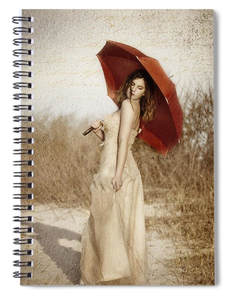 Painted Lady Narrow Spiral Notebook